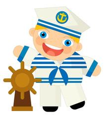 Cartoon character - sailor