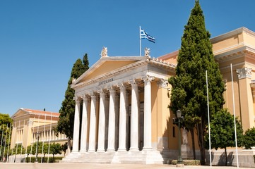 The Zappeion building in Athens