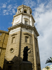 Cadiz Cathedral. La Catedral Vieja, Iglesia de Santa Cruz.