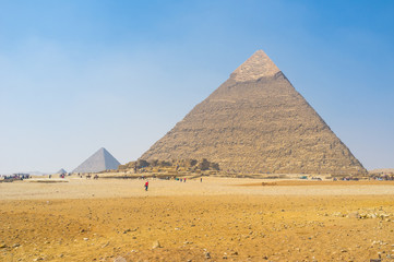 The ancient pyramids