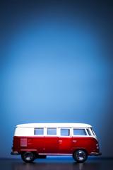 Red toy van