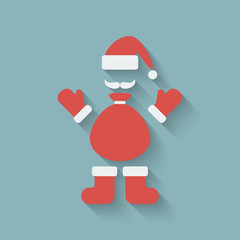 Santa Claus design element