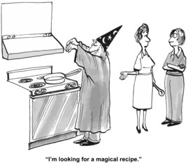 """""""I'm looking for a magical recipe."""""""