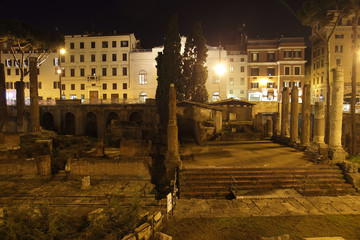 Area Sacra Roman Temple