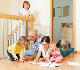 Ordinary multigeneration family