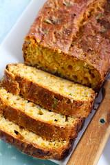 Savory snack bread