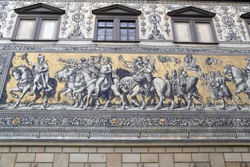 Furstenzug (Procession of Princes). Dresden, Germany