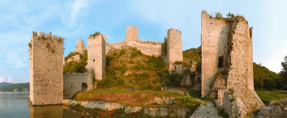 Golubac Fortress Panorama, Serbia