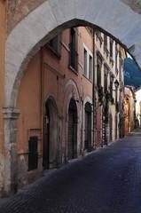 Small town of Tagliacozzo, Abruzzo, Italy