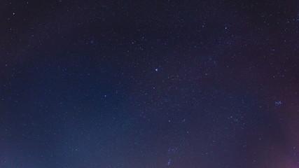 The night sky - stars and milky way