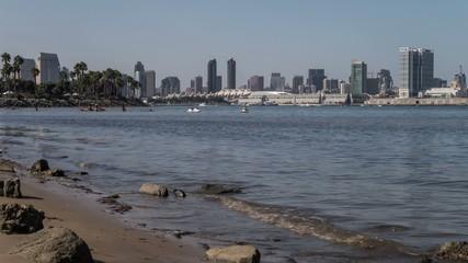 San Diego City Skyline Time Lapse