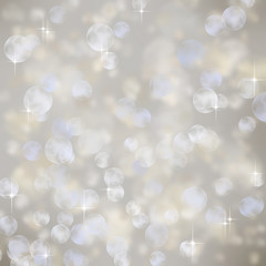 Light abstract holiday background