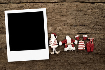 Christmas with one photo frame