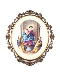 MADONNA DI POMPEI - OUR LADY OF POMPEII