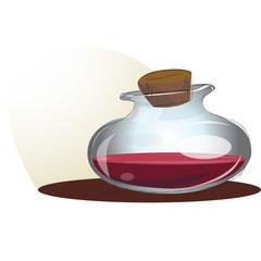 Red Potion Bottle