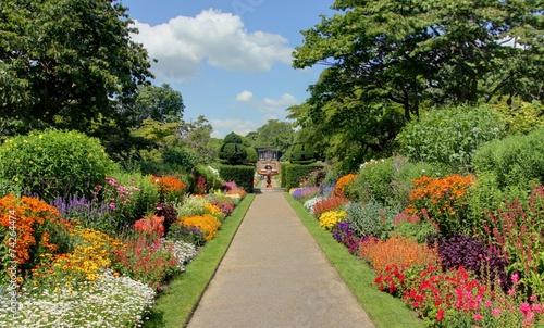 Papiers peints Jardin jardin anglais