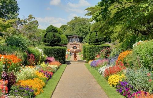 Staande foto Tuin jardin anglais