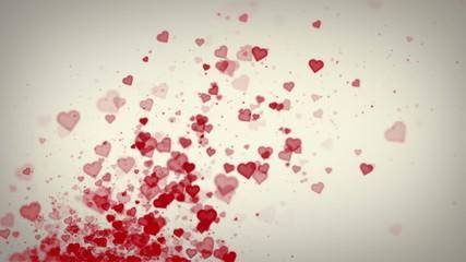 Hearts White Rising