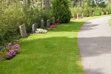 Cemetery in Nykoping
