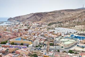 Aerial view of Almeria