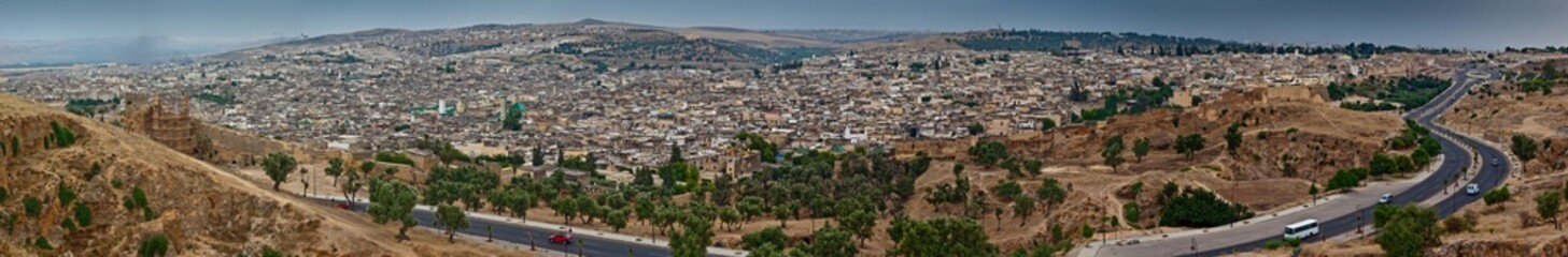 Panorama of Fes