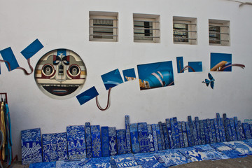 Traditional house in Asilah