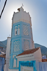 Blue minaret
