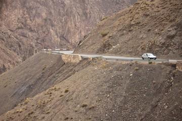 Road in Tizi-n-Tichka pass