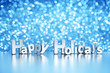 Christmas glitter background - Happy Holidays - 74267252