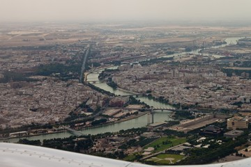 Aerial view of Seville
