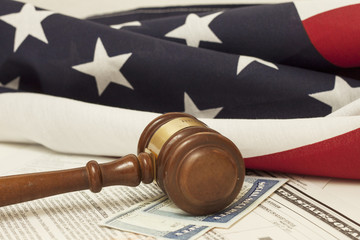 Gavel on Social Security ID