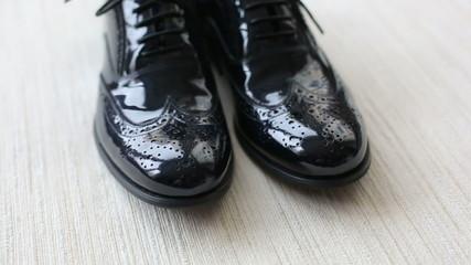New black men's shoes