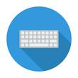 Keyboard flat icon
