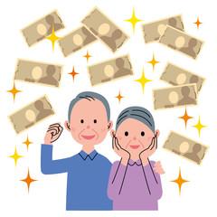 シニア カップル 金融