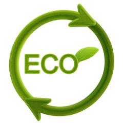 Eco-friendly illustration