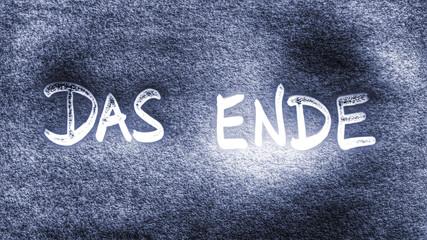 The End...Das Ende...
