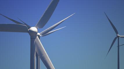 wind turbines(day)