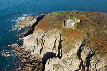Ploumoguer, Bretagne Finistère vue du ciel