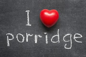 love porridge