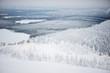 Leinwandbild Motiv Scenic winter view of Finland