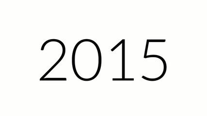 2015 Animation (Frohes neues Jahr)
