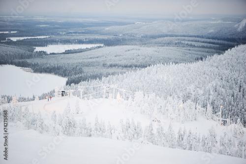 Scenic winter view of Finland - 74275868