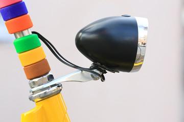 Fahrradlampe und Schmuck