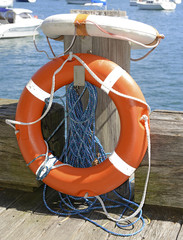 Lifesaver / life preserver isolated