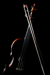 Violin bow classical music instruments