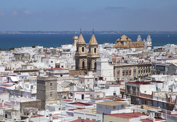 Cadiz, view from torre Tavira