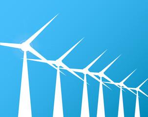 Windmills Background