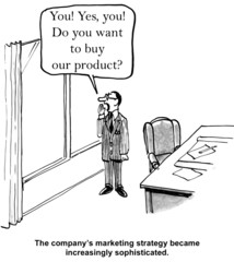 """""""The company's marketing strategy... sophisticated."""""""