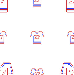 Background for American football uniform