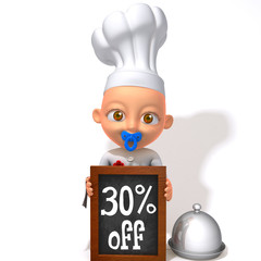 Baby Jake Chef 30 percent discount